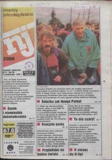 Nowiny Jeleniogórskie : tygodnik społeczny, R. 38, 1996, nr 41 (2000)