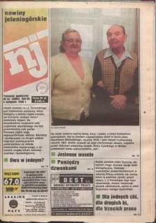 Nowiny Jeleniogórskie : tygodnik społeczny, R. 38, 1996, nr 45 (2004)