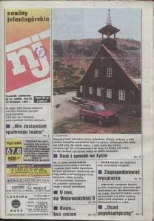 Nowiny Jeleniogórskie : tygodnik społeczny, R. 38, 1996, nr 47 (2006)