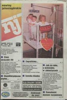 Nowiny Jeleniogórskie : tygodnik społeczny, R. 40, 1997, nr 1 (2013)