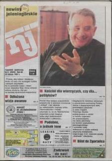 Nowiny Jeleniogórskie : tygodnik społeczny, R. 40, 1997, nr 8 (2020)