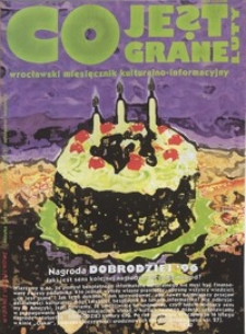 Co Jest Grane : wrocławski miesięcznik kulturalno-informacyjny, 1997, nr 2 (36)