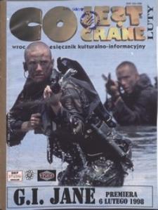 Co Jest Grane : wrocławski miesięcznik kulturalno-informacyjny, 1998, nr 2 (48)