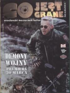 Co Jest Grane : wrocławski miesięcznik kulturalno-informacyjny, 1998, nr 3 (49)