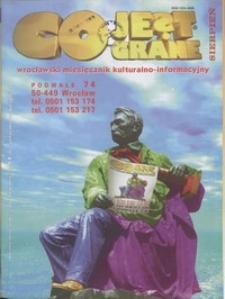 Co Jest Grane : wrocławski miesięcznik kulturalno-informacyjny, 1998, nr 8 (54)