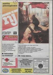 Nowiny Jeleniogórskie : tygodnik społeczny, R. 40, 1997, nr 17 (2029)