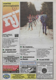 Nowiny Jeleniogórskie : tygodnik społeczny, R. 40, 1997, nr 18 (2030)