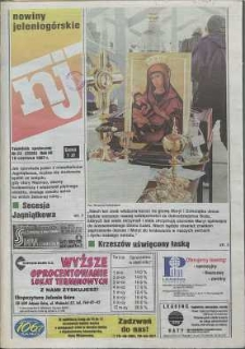 Nowiny Jeleniogórskie : tygodnik społeczny, R. 40, 1997, nr 23 (2035)