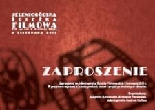 Jeleniogórska Ścieżka Filmowa : 115 lat kin w Jeleniej Górze : zaproszenie