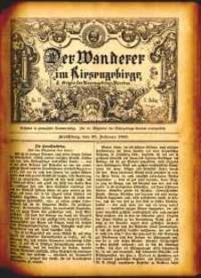 Der Wanderer im Riesengebirge, 1883, nr 17