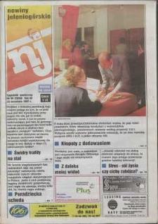 Nowiny Jeleniogórskie : tygodnik społeczny, R. 40, 1997, nr 38 (2050)