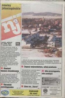 Nowiny Jeleniogórskie : tygodnik społeczny, R. 41, 1998, nr 2 (2065)