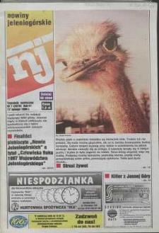 Nowiny Jeleniogórskie : tygodnik społeczny, R. 41, 1998, nr 7 (2070)