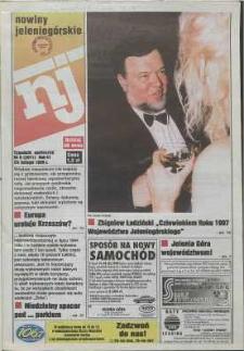 Nowiny Jeleniogórskie : tygodnik społeczny, R. 41, 1998, nr 8 (2071)