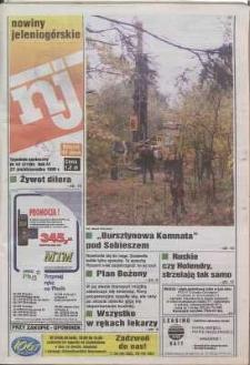 Nowiny Jeleniogórskie : tygodnik społeczny, R. 41, 1998, nr 43 (2106)