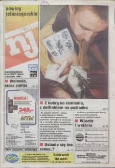 Nowiny Jeleniogórskie : tygodnik społeczny, R. 41, 1998, nr 44 (2107)