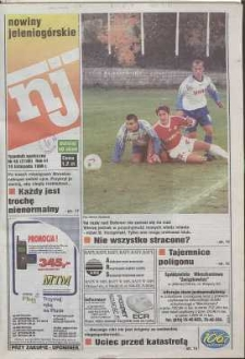 Nowiny Jeleniogórskie : tygodnik społeczny, R. 41, 1998, nr 45 (2108)