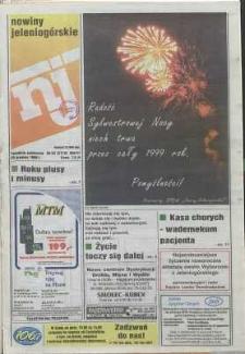 Nowiny Jeleniogórskie : tygodnik społeczny, R. 41, 1998, nr 52 (2115)
