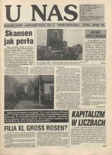 U Nas : miesięcznik jaworzyński, 1993, nr 5