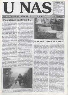 U Nas : miesięcznik jaworzyński, 1994, nr 17