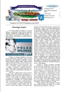 Świebodzice - Dzieje Miasta, 2011, nr 10 (167) [Dokument elektroniczny]