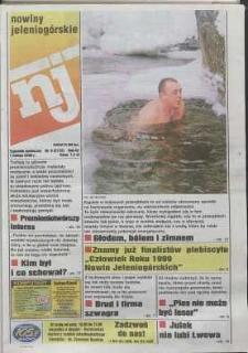 Nowiny Jeleniogórskie : tygodnik społeczny, R. 43, 2000, nr 5 (2172)