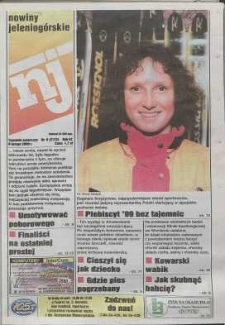 Nowiny Jeleniogórskie : tygodnik społeczny, R. 43, 2000, nr 6 (2173)