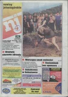 Nowiny Jeleniogórskie : tygodnik społeczny, R. 43, 2000, nr 33 (2200)