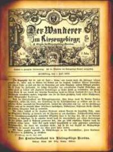 Der Wanderer im Riesengebirge, 1883, nr 23