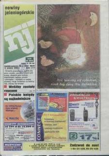 Nowiny Jeleniogórskie : tygodnik społeczny, R. 43, 2000, nr 51 (2218)