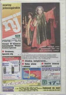 Nowiny Jeleniogórskie : tygodnik społeczny, R. 43, 2000, nr 52 (2219)