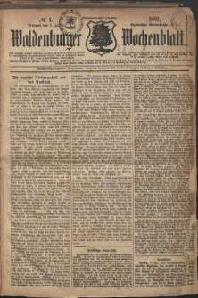 Waldenburger Wochenblatt, Jg. 28, 1882, nr 1