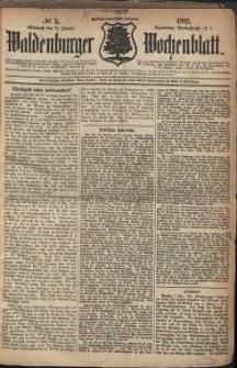 Waldenburger Wochenblatt, Jg. 28, 1882, nr 3