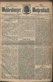 Waldenburger Wochenblatt, Jg. 28, 1882, nr 4