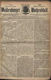 Waldenburger Wochenblatt, Jg. 28, 1882, nr 5