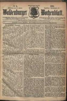 Waldenburger Wochenblatt, Jg. 28, 1882, nr 6