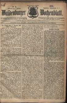 Waldenburger Wochenblatt, Jg. 28, 1882, nr 9