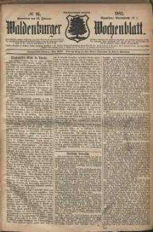 Waldenburger Wochenblatt, Jg. 28, 1882, nr 16