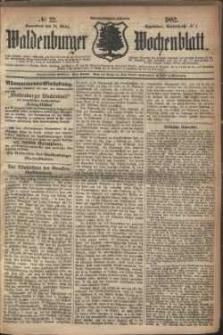 Waldenburger Wochenblatt, Jg. 28, 1882, nr 22
