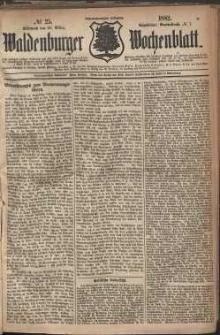 Waldenburger Wochenblatt, Jg. 28, 1882, nr 25