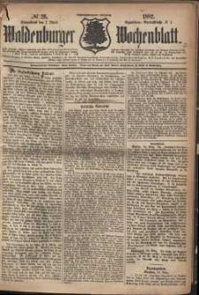 Waldenburger Wochenblatt, Jg. 28, 1882, nr 26