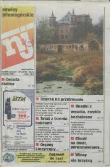 Nowiny Jeleniogórskie : tygodnik społeczny, R. 42, 1999, nr 1 (2116)
