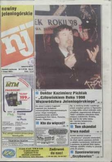 Nowiny Jeleniogórskie : tygodnik społeczny, R. 42, 1999, nr 5 (2120)