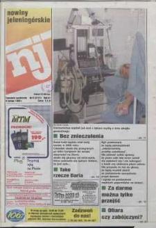 Nowiny Jeleniogórskie : tygodnik społeczny, R. 42, 1999, nr 6 (2121)