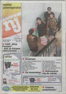 Nowiny Jeleniogórskie : tygodnik społeczny, R. 42, 1999, nr 11 (2126)