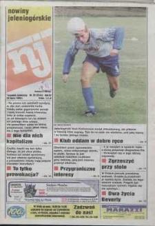 Nowiny Jeleniogórskie : tygodnik społeczny, R. 42, 1999, nr 29 (2144)