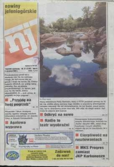 Nowiny Jeleniogórskie : tygodnik społeczny, R. 42, 1999, nr 31 (2146)