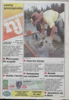 Nowiny Jeleniogórskie : tygodnik społeczny, R. 42, 1999, nr 34 (2149)