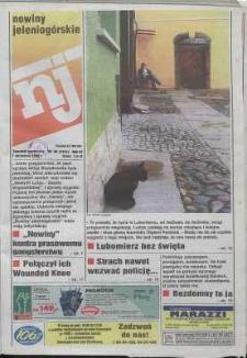 Nowiny Jeleniogórskie : tygodnik społeczny, R. 42, 1999, nr 36 (2151)