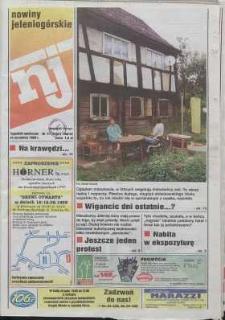 Nowiny Jeleniogórskie : tygodnik społeczny, R. 42, 1999, nr 37 (2152)